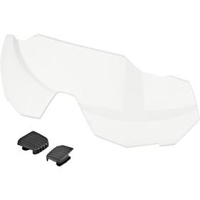 100% Speedtrap Glasses matte metallic viperidae/bronze mirror